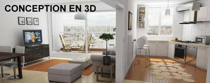 conception 3D decoration interieur