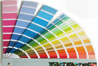 nuancier de couleur mural