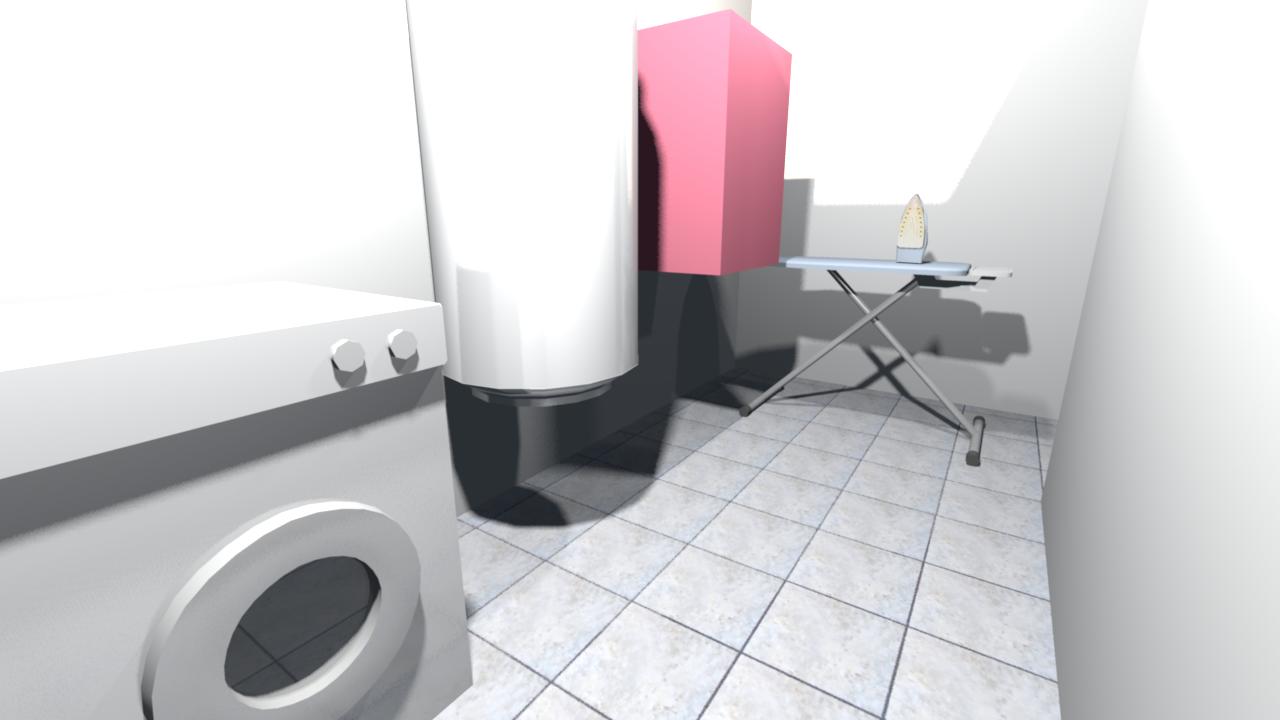 am nagement cuisine et buanderie. Black Bedroom Furniture Sets. Home Design Ideas
