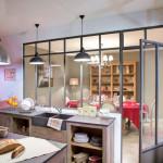 architecture intérieur, cuisine verrière