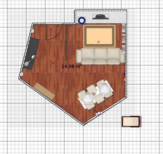 plan salon salle manger