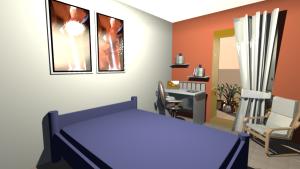 décoration tête de lit