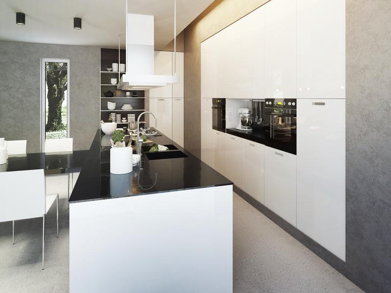 cuisine maison contemporaine