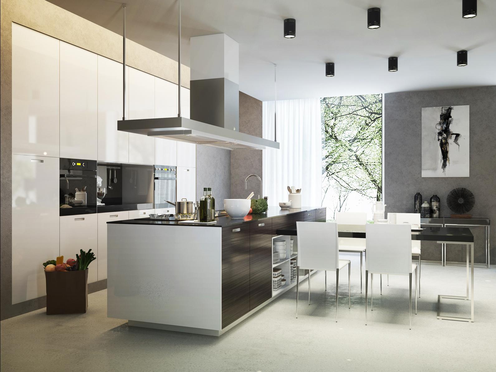 cuisine ouverte - Architecte d\'Intérieur