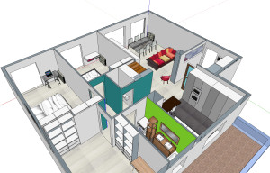 plan architecte intérieur