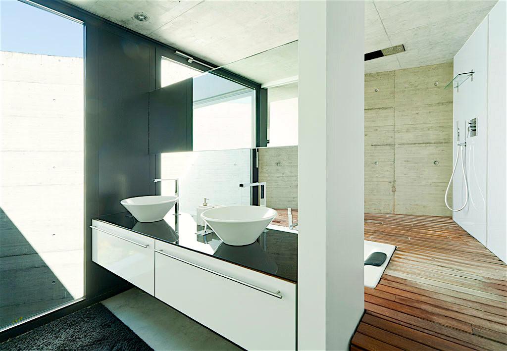 salle-bains industriel