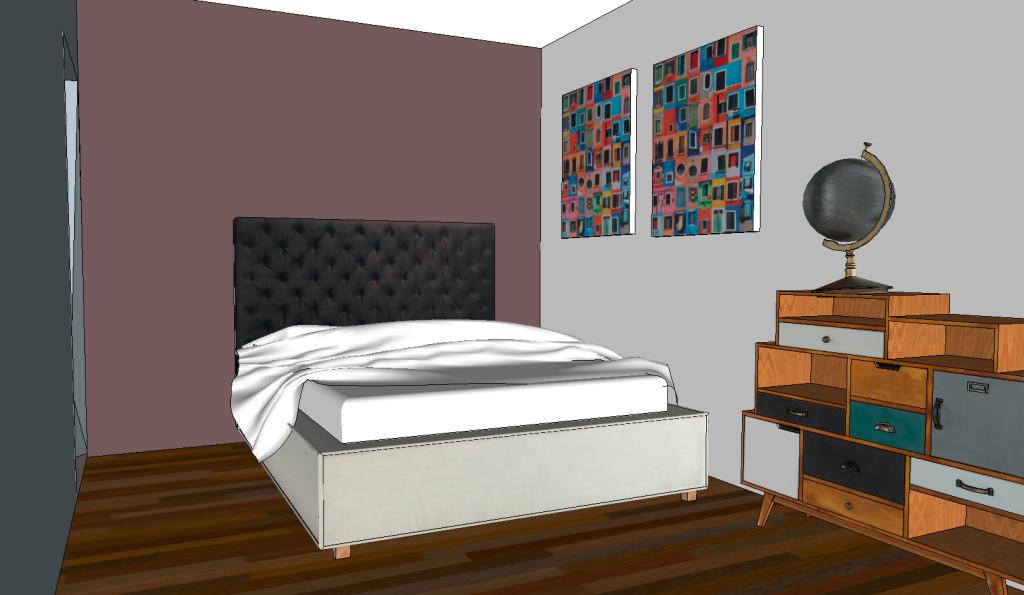 chambre a couché design