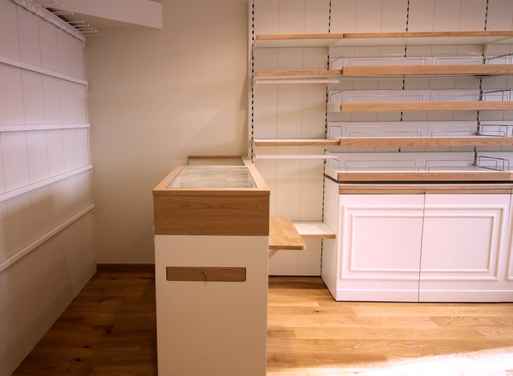 Installation du mobilier