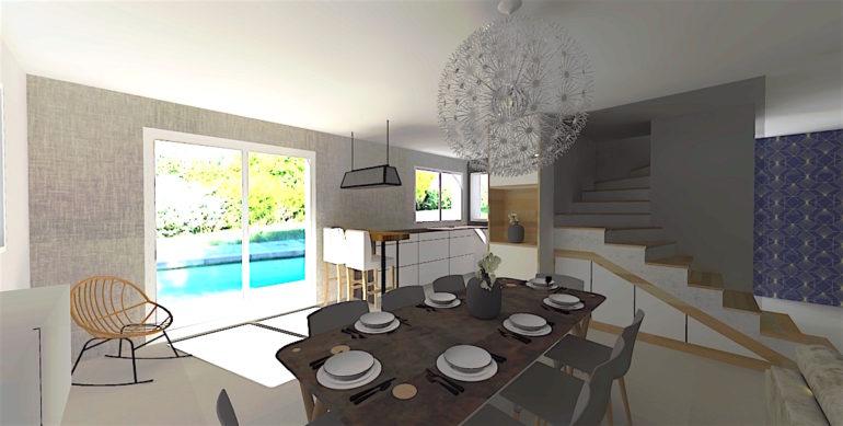 Architecture intérieur salle à manger