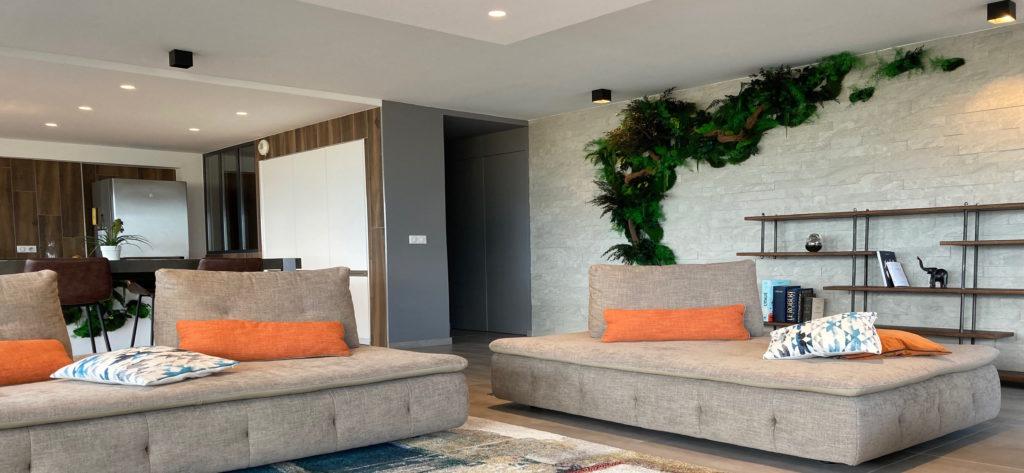 création-appartement contemporain
